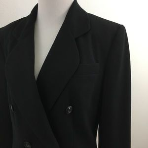 🆕 Double Breasted Black Blazer